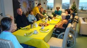 Lesung bei Kaffee und Kuchen Vitamed Pflegehotel Leipzig