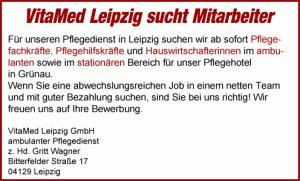 Vitamed Pflegedienst Leipzig
